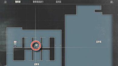 警察署留置場牢屋の中MAP