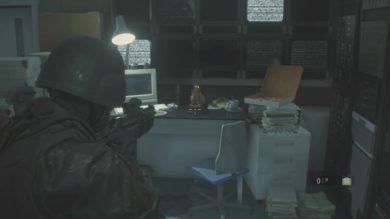 研究所B1Fノースエリア守衛室