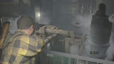 地下施設中層機械室