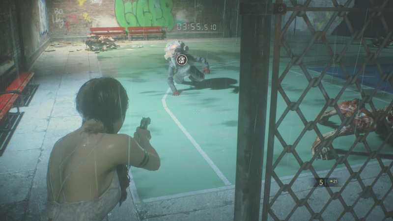 DLC「Runaway」バスケットコート2