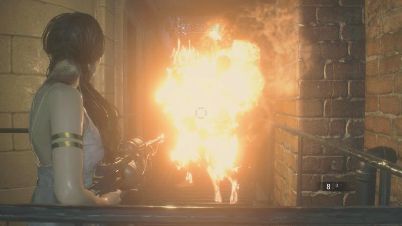 DLC「Runaway」火炎放射器