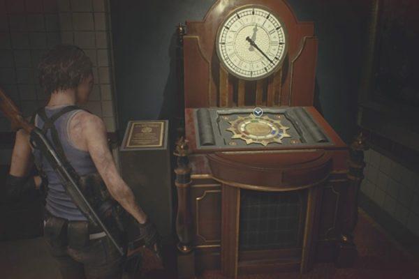 【バイオRE3】時計ギミック3つのジュエルの場所とレコード「昔、見た気が‥」達成【バイオハザードRE3】