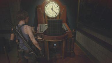 時計ギミック3つのジュエルの場所10