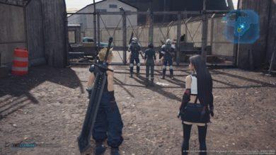 墓場からの遺物攻略と自警団の鍵の場所1
