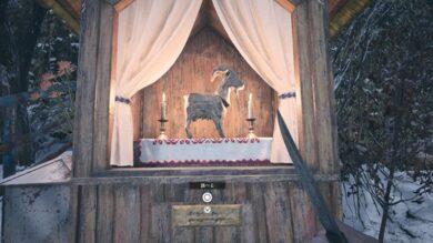 魔除けの山羊全20体の場所1