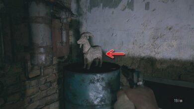 魔除けの山羊全20体の場所38