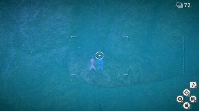 レンティル海床(海中)の分岐ルートの開放10